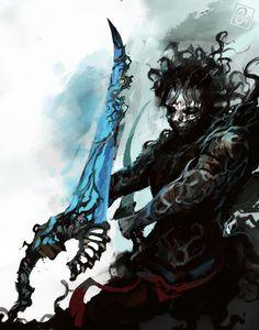 Check out Prince @ Iomoio Fantasy Demon, Dark Fantasy Art, Dark Pictures, Dark Pics, Samurai, Warrior Within, All Pop, Prince Of Persia, Weapon Concept Art