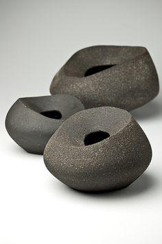 in love ceramic vases clay art vessel pottery artist Yasha Butler Lithic Glass Ceramic, Ceramic Clay, Ceramic Bowls, Ceramic Pottery, Pottery Art, Earthenware, Stoneware, Cerámica Ideas, Keramik Vase