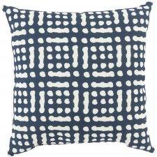 Tanis Indoor/Outdoor Pillow, Navy