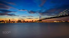 City Across the River - The city of Philadelphia sits just across the Delaware…