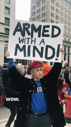 Hayley during #MARCHFOROURLIVES in Nashville, TN. Protest Art, Protest Signs, Protest Posters, Mode Queer, Lgbt, Women Rights, Feminist Quotes, Equality Quotes, Feminist Af