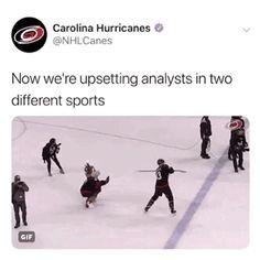 I especially like this because Don Cherry doesn't Hockey Baby, Hockey Girls, Ice Hockey, Montreal Canadiens, Funny Relatable Memes, Funny Jokes, Hilarious, Don Cherry, Canada Hockey