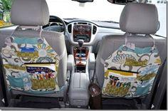 DIY Car Seat Organizers