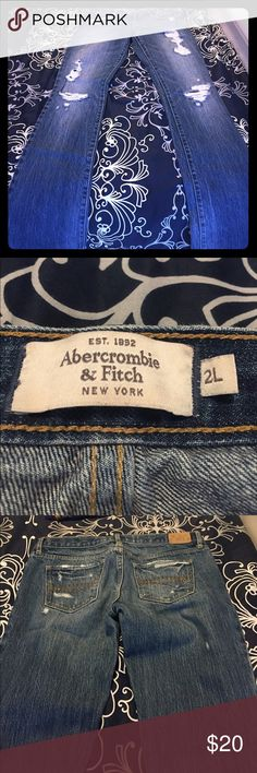 Abercrombie & Fitch 2L jeans bootcut Abercrombie & Fitch 2L jeans Abercrombie & Fitch Pants Boot Cut & Flare
