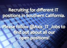 Looking for Developers, Business Analysts, Project Managers, IT Architects #jobs #tech #pinterest #recruiting