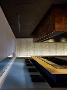 Kyoto Kokusai Hotel [Steak House Omi] |  Kengo Kuma & Associates.....