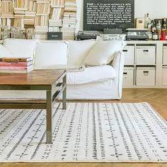 Pour un salon cocooning - les tapis Edito | En vente chez The Cool Republic