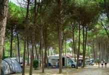 Camping Residence Il Tridente aan zee