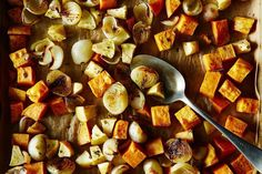 Roasted Sweet Potato and Apple with Pearl Onions and Crispy Sage recipe on Food52