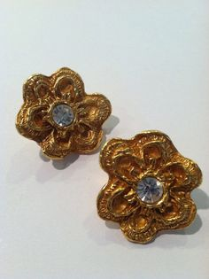 Vintage Christian Lacroix Earrings from by outoftheblueVINTAGES, $130.00