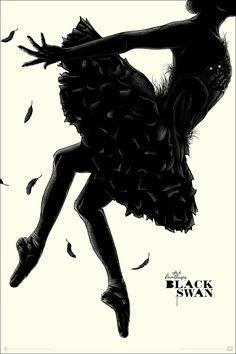 Matt Ryan Tobin Black Swan & Anne Benjamin Wizard of Oz Poster Release From Mondo Black Swan Movie, Film Black, Black Swan 2010, Omg Posters, Film Posters, Horror Posters, Movie Poster Art, New Poster, Movie Collage