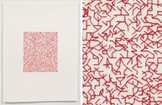 Emily Barletta  See her whole series of red thread