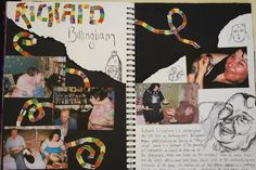 More great artist research Sketchbook Layout, Gcse Art Sketchbook, Sketch Journal, Sketchbook Ideas, Sketchbook Inspiration, Artist Research Page, Kyle Jenner, Art Diary, Sketch Pad