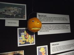 Mr Angry Orange discovers the truth about orange juice factories