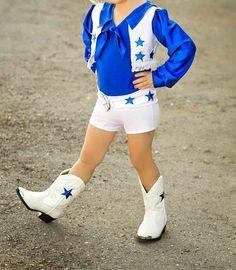 ba4232e5c4a Dallas Cowboy Cheerleader Inspired Biketard/Unitard by SENDesigne, $95.00  Holloween Costumes For Kids,