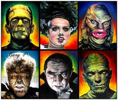 Famous Monsters   Monsters and Macabre   Pinterest   Monsters ...