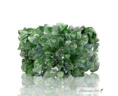 elastisches Armband Heilstein mit Aventurin & Jade grün