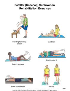Summit Medical Group - Kneecap Subluxation Exercises