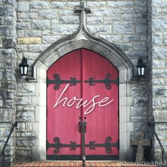 """""""Because of Your unfailing love, I can enter Your #house; I will worship… with deepest awe."""" (Ps 5:7) ⠀ Because we are loved -- deeply and truly loved -- and therefore truly and deeply forgiven, redeemed and restored. ⠀ Because of Jesus. That's why we are welcome in the Father's House. ⠀ #AdventWord #episcopalchurch #episcopal #reddoor ⠀ [photo: @ChristinDitchfield 