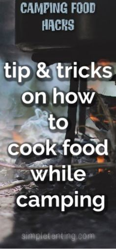Cooking food while camping - tips and tricks! Learn exactly how to cook food what you need cooking camping? Cooking food while camping - tips and tricks! Learn exactly how to cook food what you need cooking camping? Kayak Camping, Camping Meals, Camping Hacks, Camping Storage, Camping Gadgets, Diy Camping, Outdoor Camping, Camping Cooking, Camping Checklist