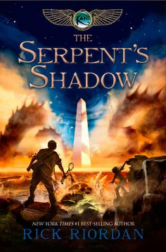 The Serpent's Shadow by Rick Riordan  The end of a series. SOOOOO GOOD. I adored it.