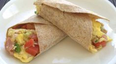Ham & Egg Burrito