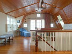 Beautiful gambrel house