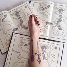 Celaena Sardothien inspired tattoos