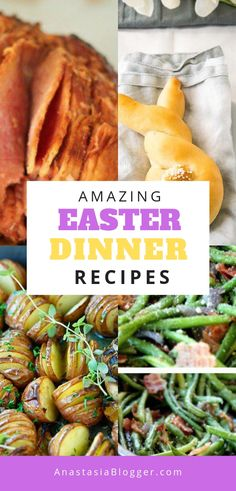 Looking for inspiration for your Easter dinner? You'll find here the best 12 traditional Easter recipes and ideas for sides and meat menus to try this year! #easterrecipes #easterdinners #easterdinner #eastersides