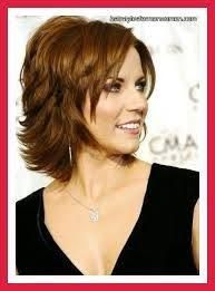 Image result for hairstyles for 48 year old lady shoulder length