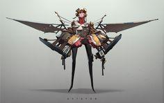 ArtStation - Aviator, Tan Zhi Hui