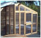 Greenhouse for the Side of a Shed - Free plans for cold frames/greenhouses