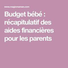 Budget bébé : récapitulatif des aides financières pour les parents