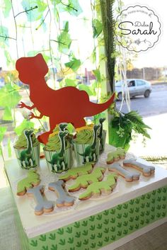 The Good Dinosaur birthday party snacks! See more party ideas at CatchMyParty.com!