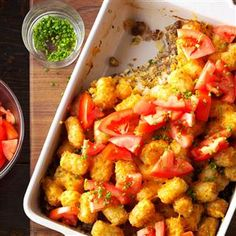 50 Hearty Breakfast Casseroles - Feed a crowd, stress-free! You can't go wrong with these hearty breakfast casseroles. Breakfast Pie, Best Breakfast Casserole, Breakfast For Dinner, Breakfast Dishes, Breakfast Recipes, Breakfast Cooking, Second Breakfast, Breakfast Items, Tater Tot Recipes