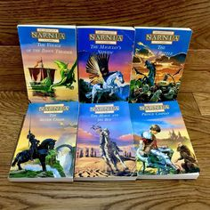 The Chronicles Of Narnia. The Last Battle. X 6 paperback books. The Voyage of the Dawn Treader. The Magician's Nephew. The Magicians Nephew, Last Battle, Chronicles Of Narnia, Cs Lewis, Paperback Books, Action, Adventure, Reading, Travel