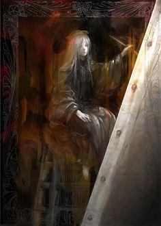 painter girl,Dark Souls,фэндомы,Dark Souls 3