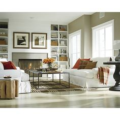"Width: 72"" Depth: 35"" Height: 17"" - Baden Coffee Table in Coffee Tables & Side Tables 