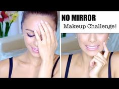 NO MIRROR Makeup Challenge!  My Makeup Routine - http://www.box-of-fashion.com