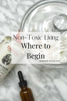 Non-toxic living can be overwhelming at first. Use this guide to walk you through the process. Organic Living, Natural Living, Simple Living, Natural Cleaning Solutions, Natural Cleaning Products, Organic Lifestyle, Natural Lifestyle, Going Natural, Grow Your Own Food