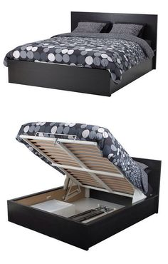 IKEA offers everything from living room furniture to mattresses and bedroom furniture so that you can design your life at home. Check out our furniture and home furnishings! Murphy Bed Ikea, Murphy Bed Plans, Bedroom Furniture, Home Furniture, Furniture Design, Furniture Storage, Bedroom Wardrobe, Home Bedroom, Wardrobe Closet