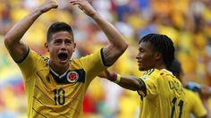 Colombia vs. Japón en vivo por el Mundial Brasil 2014 #Depor