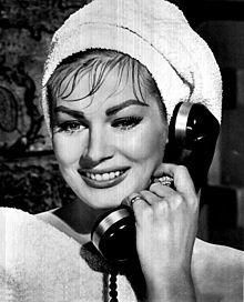 Anita Ekberg in Hollywood or Bust - 1956