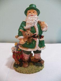 International+Santa+Claus+Collection+Irish+Father+Christmas+Ireland+Figurine+