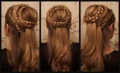 Game of Thrones Hair: Daenerys Targaryen, Season 5.