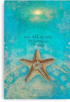 Not all stars belong to the sky © Angi Sullins & Silas Toball beach quotes I Love The Beach, My Love, Am Meer, Beach Bum, Beach Trip, Canoe Trip, Ocean Beach, Ocean Waves, Travel Quotes