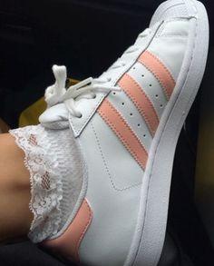Imagen de adidas, pastel, and peachy