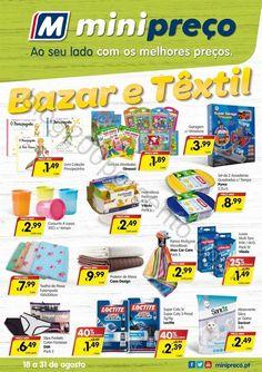 Antevisão Folheto MINIPREÇO Bazar promoções de 18 a 31 agosto - http://parapoupar.com/antevisao-folheto-minipreco-bazar-promocoes-de-18-a-31-agosto/