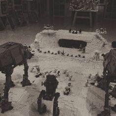 Let the battle begin #starwars #lego