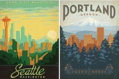 cornflake dreams.: trip tips: pacific northwest.